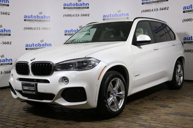 2016 – 2018 CPO BMW X5 Models