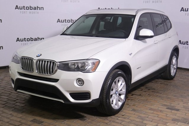 Certified Pre Owned 2017 Bmw X3 Xdrive28i Awd