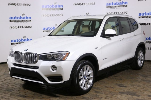 2016 – 2018 CPO BMW X3 Models