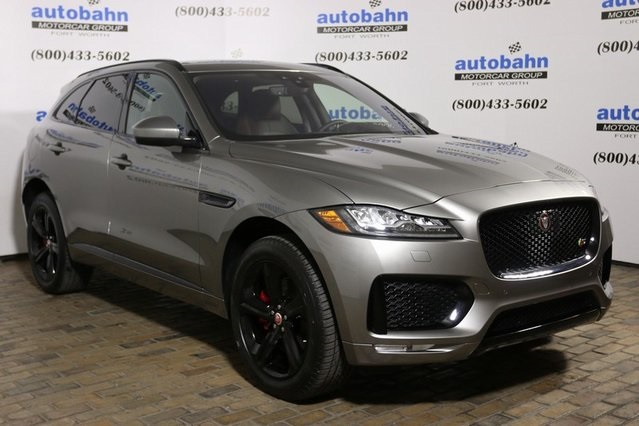 New 2019 Jaguar F Pace S 4d Sport Utility In Fort Worth J19000